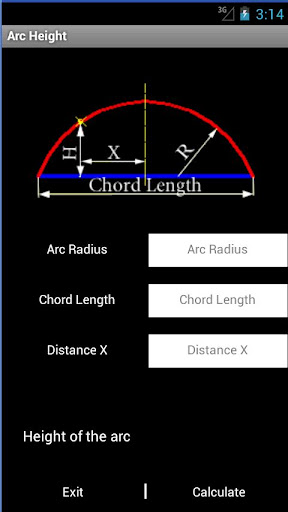 Arc Height