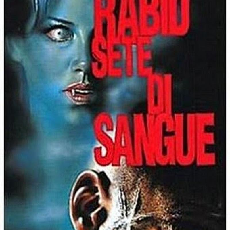 Sete di sangue, secondo film di Cronemberg dove le tematiche dell'opera sono l'anomalia fisica e la difficoltà dell'amore sessuale.