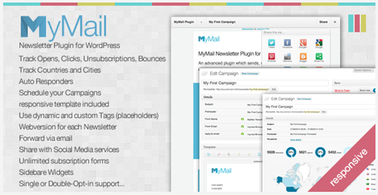 mymail wordpress newsletter