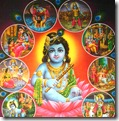 Shri Krishna's pastimes