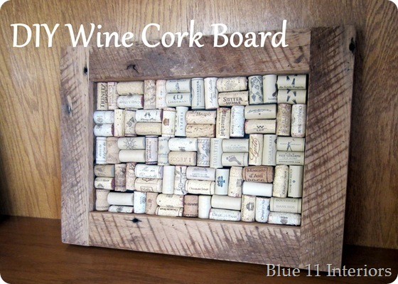 Diy Wine Cork Board Good Morning I Have Another Wonderful Project To Share With You Today It S Fairly Easy But Does Require A Lot Of