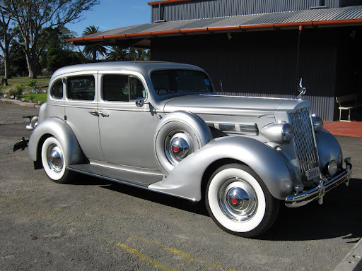 Ed's beautiful '37 120 Sedan