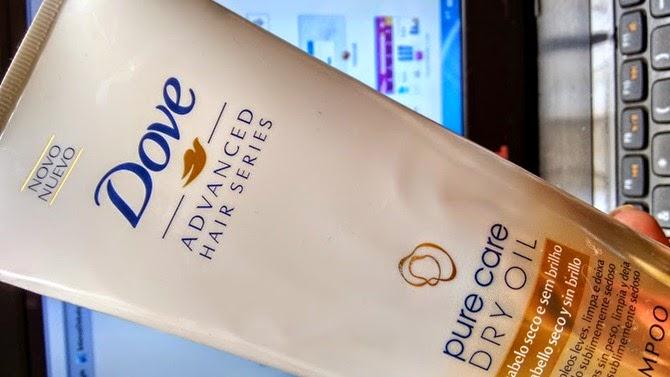 Shampoo pure care dry oil