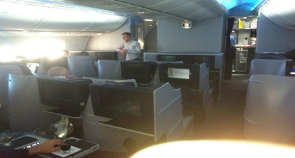 Elitepro in a United 787