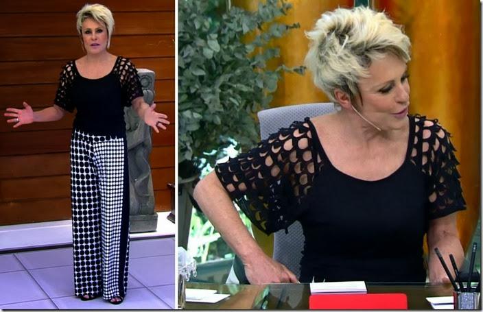 moda do programa mais você - ana maria braga dia 22 de janeiro de 2014