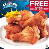 Dominos FREE Roasted Chicken Drummet Promotion All Malaysia Promotions Latest Shopping EverydayOnSales