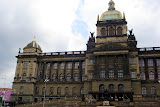 The National Museum in Wenceslas Square