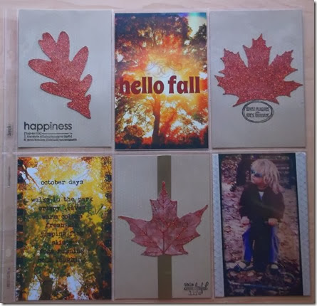 Hello Fall Project Life by Tristine Denise
