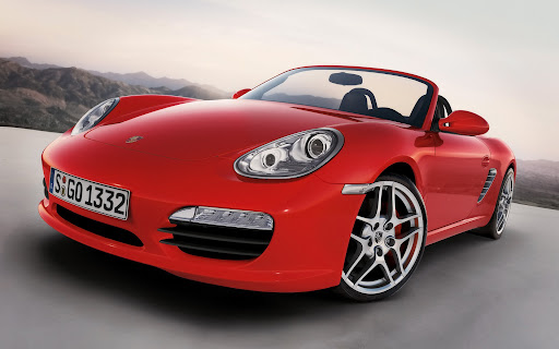 Porsche Boxter Background - HD