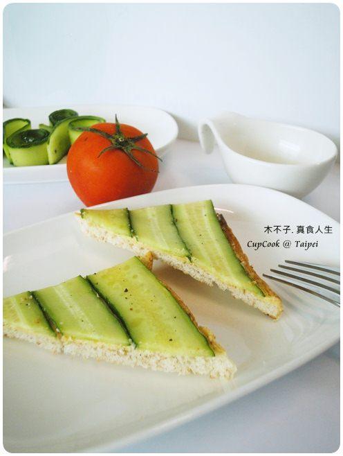 奶油小黃瓜烤吐司 cucumber (3)