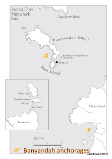 Location Map of Rum Island