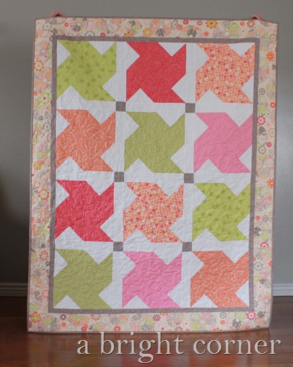 Whirled quilt