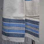 Ocean Blue hand towel