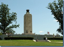 2458 Pennsylvania - Gettysburg, PA - Gettysburg National Military Park Auto Tour - Stop 2 Eternal Light Peace Memorial