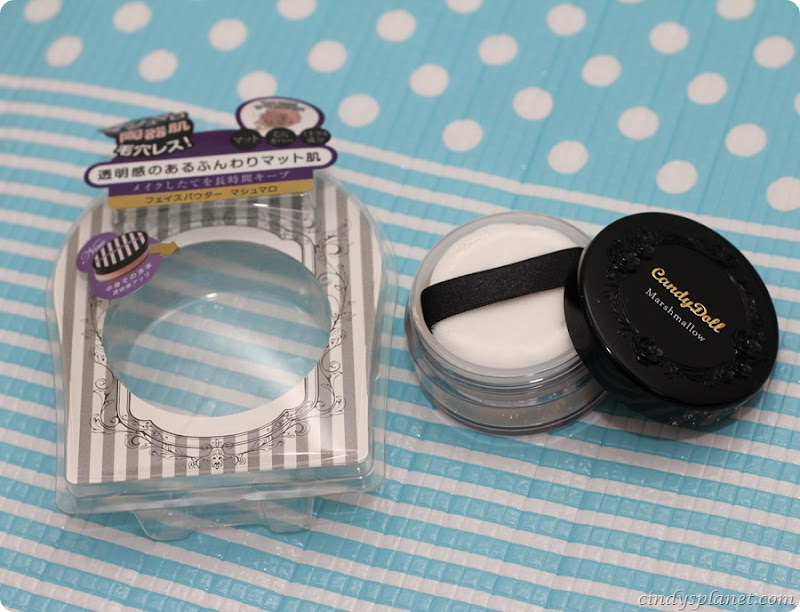 Candydoll face powder review4