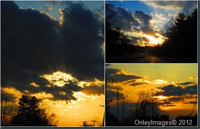 sunset collage2