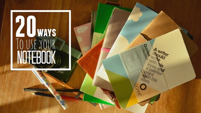 20 Ways to use your notebook