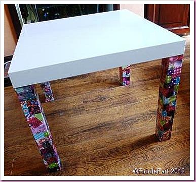 Ikea Lack Side Table Decopatch