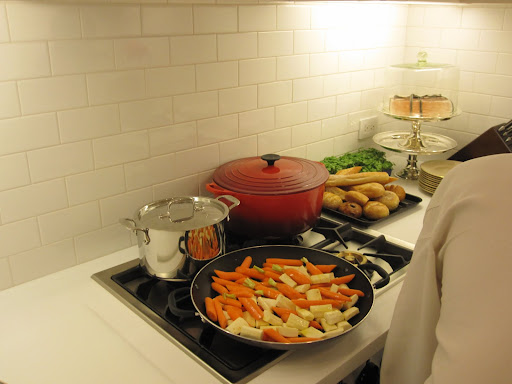 Food is prepared and ready to be cooked!