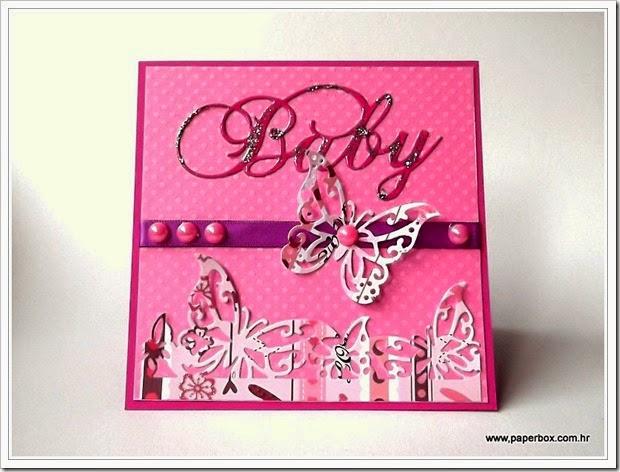 Baby card - Čestitka za bebe (1)