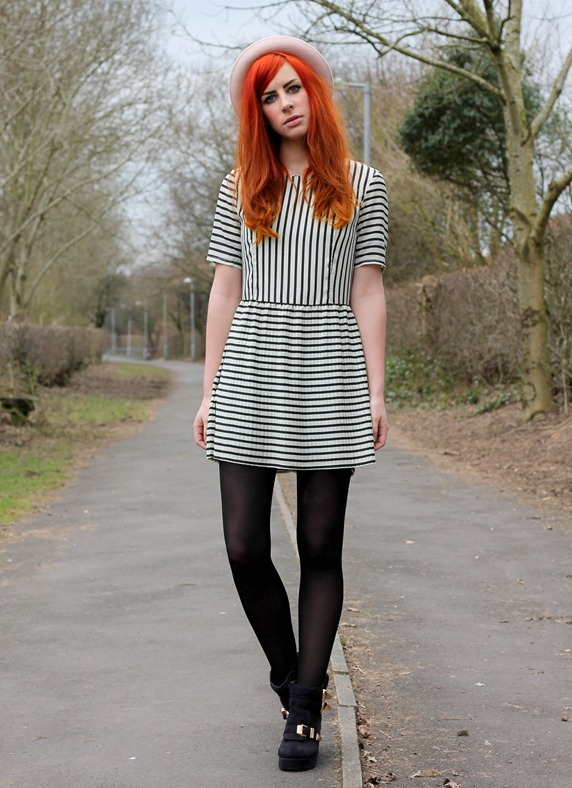 MINKPINK STRIPED DRESS