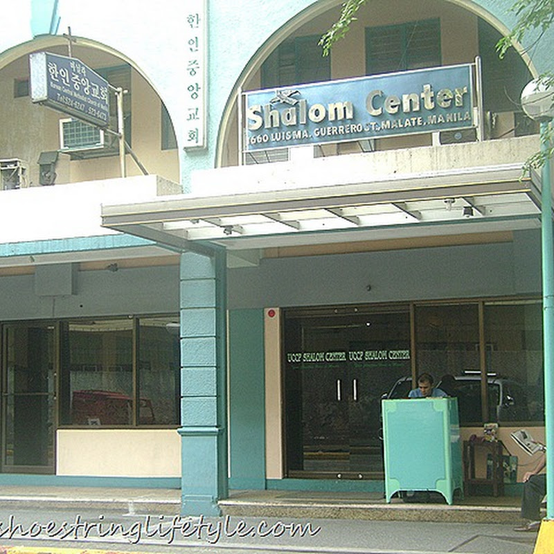 Review on UCCP Shalom Centre Manila