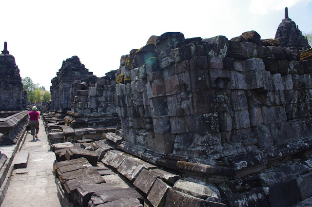 Years of neglect, earthquakes, and volcanic ash have left Prambanan worse for the year.