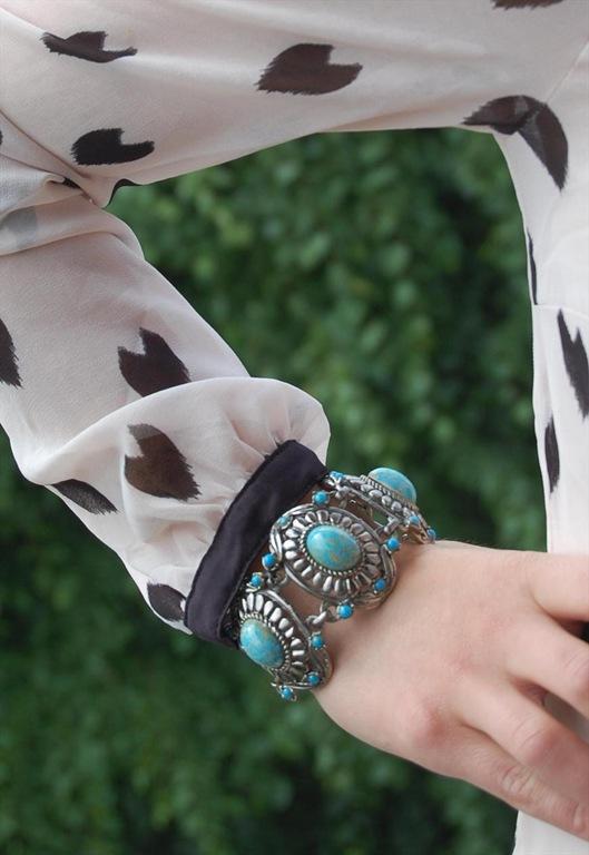 1960s Silver Tone Navajo Bracelet, £45, Navajo Bracelet