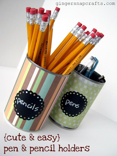 Diy Pen And Pencil Holders