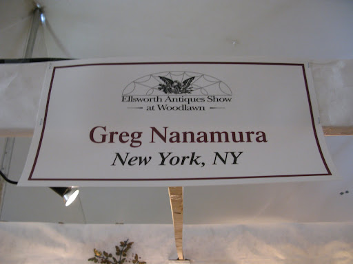 Greg Nanamura is an excellent antique dealer from New York with a refined eye.