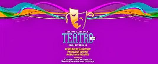 IX Festival Nacional de Teatro Cidade de Vitória