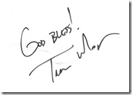 Trevor Morgan autograph cropped