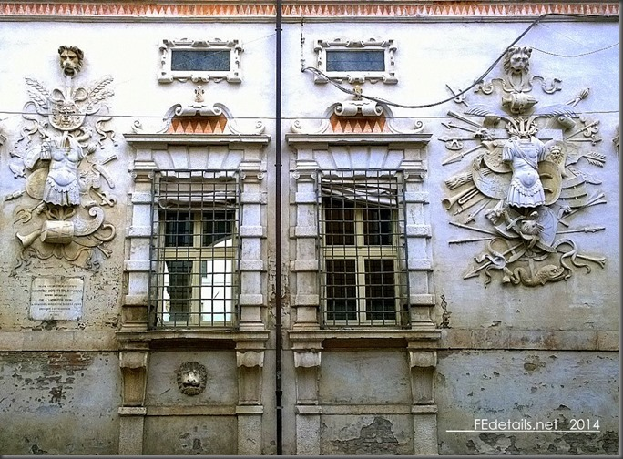 Palazzo Bentivoglio, Ferrara, Italy, Photo1