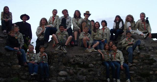 im Sommerlager 2009