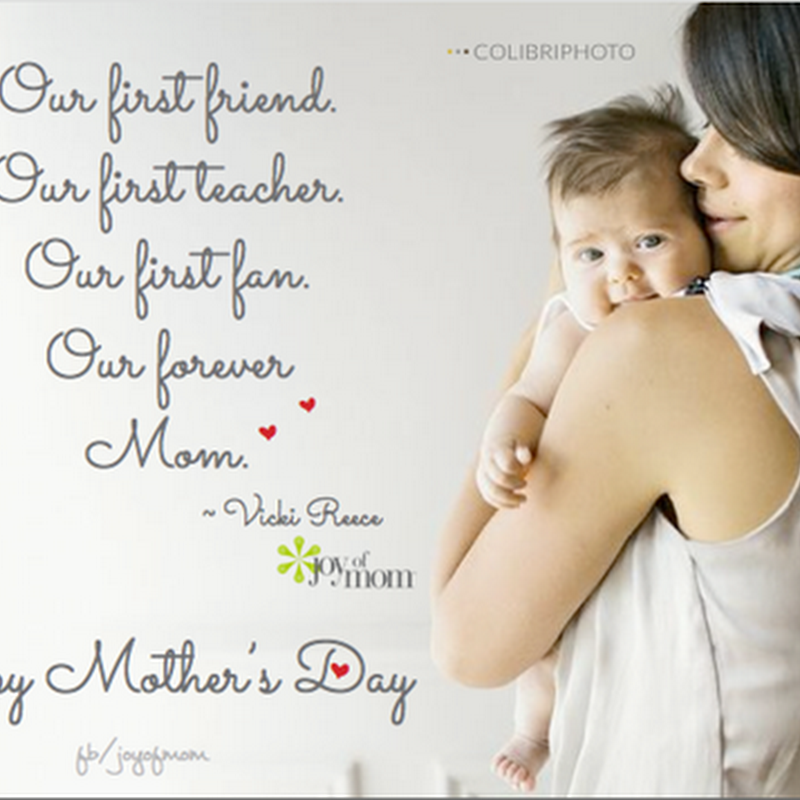 Happy Mothers Day { 2016* }  Sayings From Son And Daughter