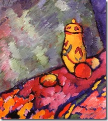 Yellow-Jug-Alexei-von-Jawlensky-100-Hand-Painted-Oil-Painting-Repro-Museum-Quality-Gift