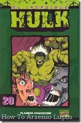 P00020 - Coleccionable Hulk #20 (de 50)