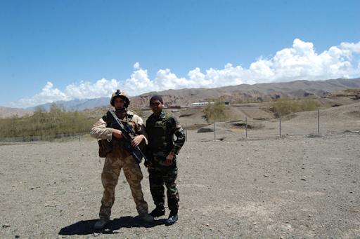 Me At Bamyan Afghanistan