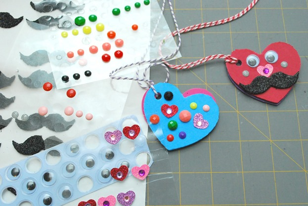 Foam Heart Locket 3
