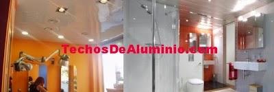 techos de aluminio verde