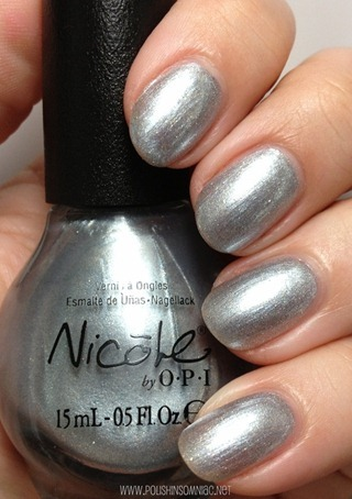 Nicole by OPI Always a Silver Lining
