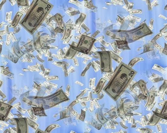 money-background-seamless-fill-bluesky