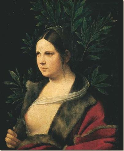 Giorgione, Laura