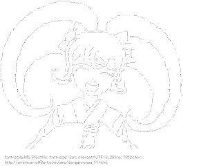 [AA]Saionji Hiyoko (Danganronpa)