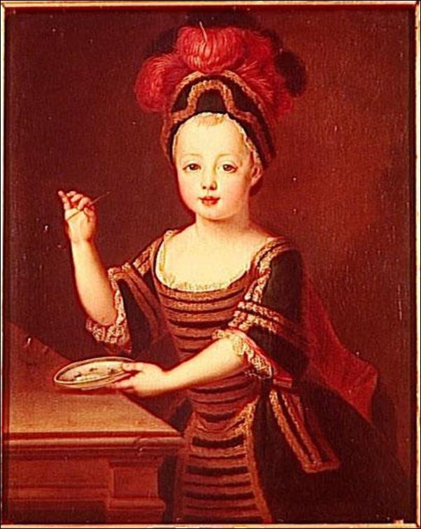 Pierre Gobert, Enfant aux bulles de savon