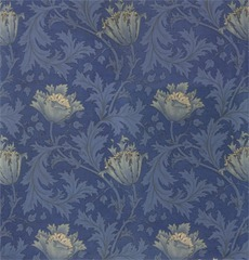 morris & co anenome blue