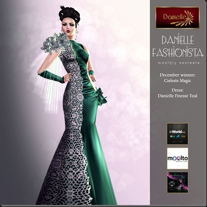 Danielle Fashionista Winner 2012_11 Cieleste Magic