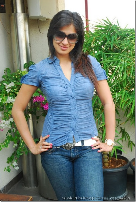 lakshmi_rai_tight_jeans_and_shirt_stills_14