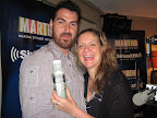David Trotta with Chef Amanda Freitag on
