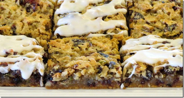 Coconut Lime Cranberry Pecan Bars 6